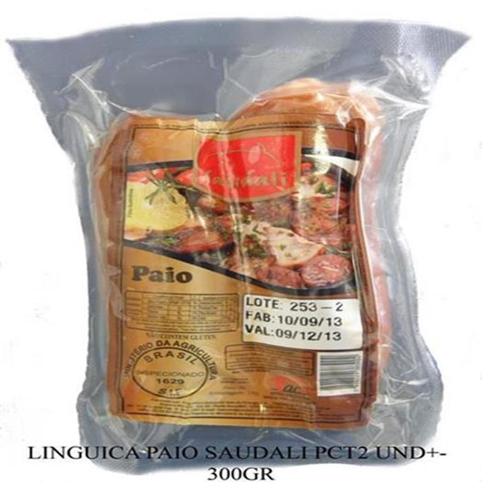 LINGUICA PAIO SAUDALI PCT 2UN +-300G