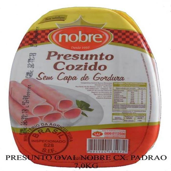 PRESUNTO OVAL NOBRE CX. 2PC/7,0KG