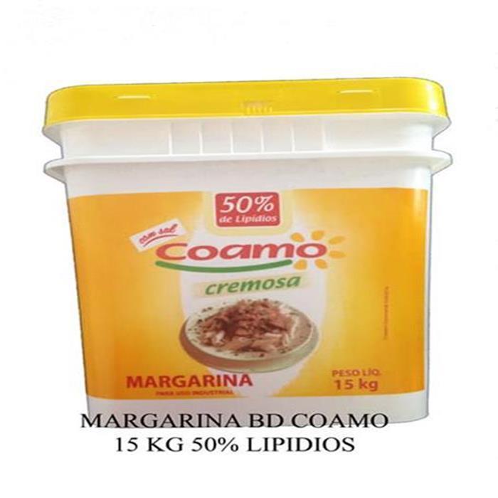 MARGARINA BD COAMO 15 KG 50% LIP. C/S
