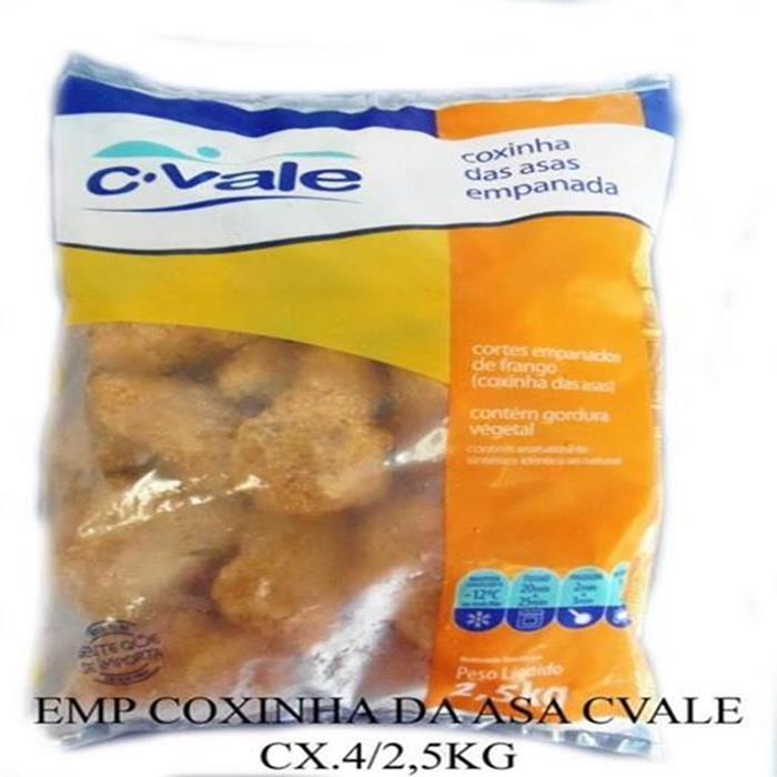 EMP COXINHA DA ASA C.VALE CX 4/2,5KG