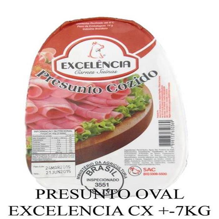PRESUNTO OVAL EXCELENCIA CX.14KG/4PC