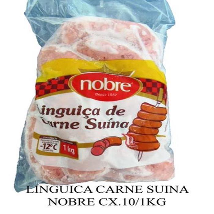 LINGUICA CARNE SUINA NOBRE CX.10/1KG