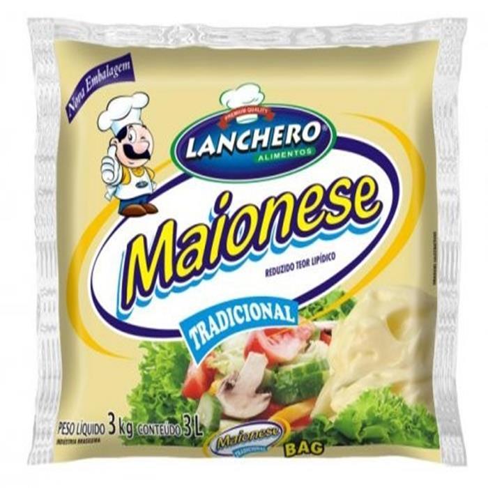 MAIONESE BAG LANCHERO CX.6/3KG