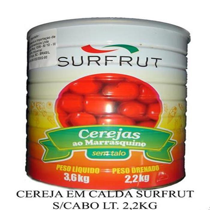 CEREJA EM CALDA SURFRUT S/CABO LT. 2,2KG