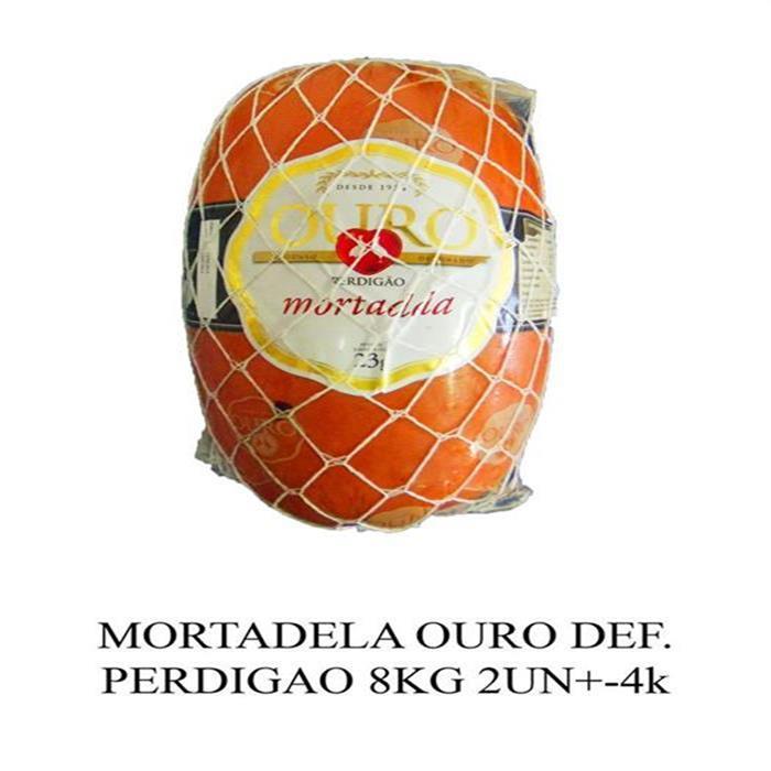 MORTADELA OURO DEF. PERDIGAO CX 2PC/8KG