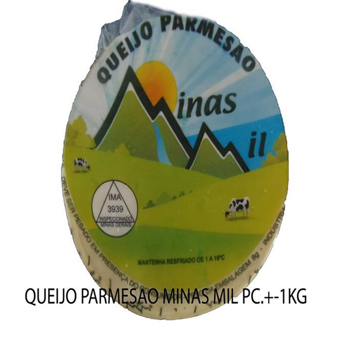 QUEIJO PARMESAO MINAS MIL FD20PC/+-1,2KG