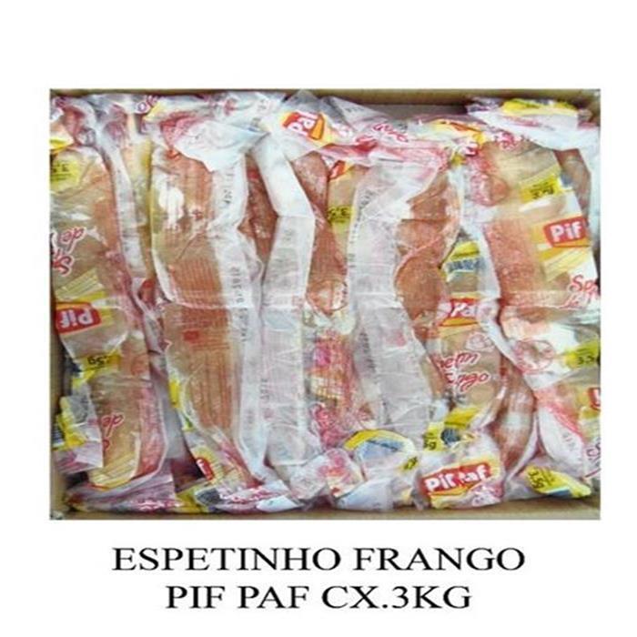 ESPETINHO FRANGO PIF PAF CX.3KG