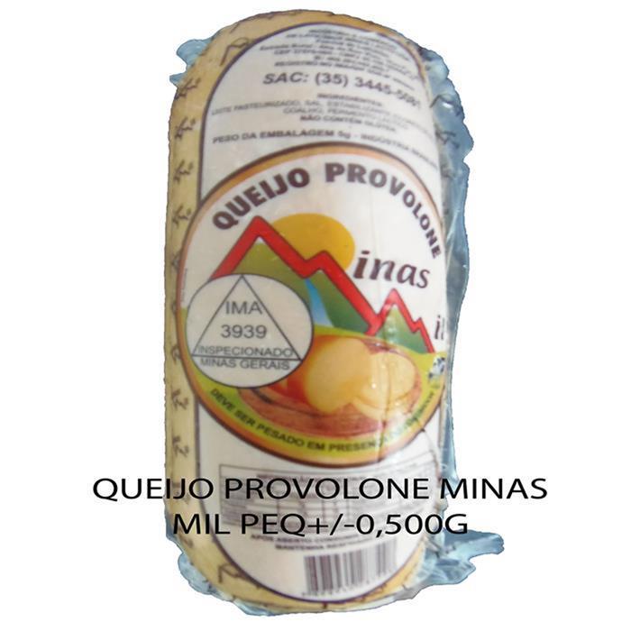 QUEIJO PROVOLONE MINAS MIL FD30PC/+-600G