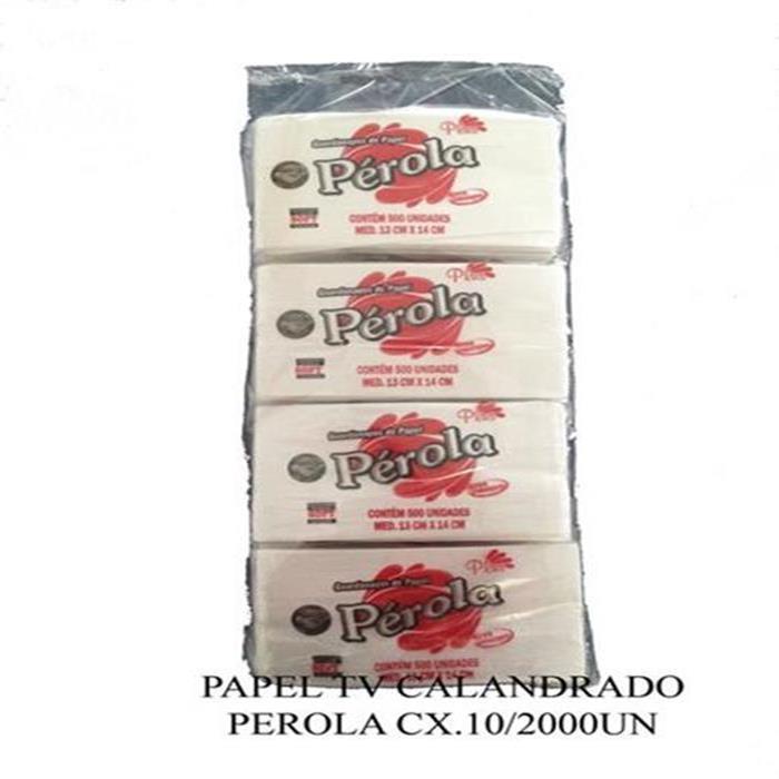PAPEL TV CALANDRADO PEROLA CX.10/2000UN