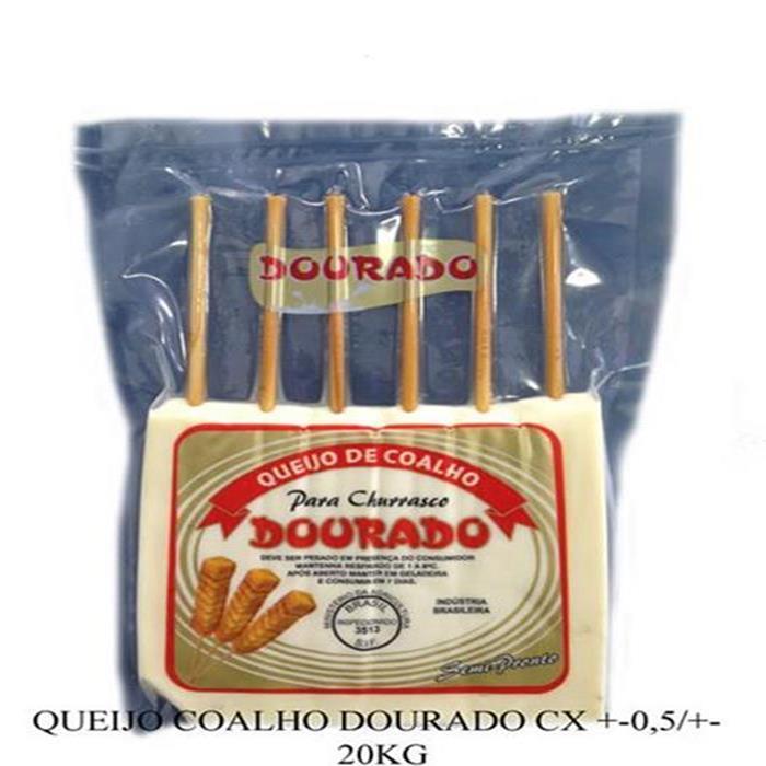 QUEIJO COALHO DOURADO CX.20/+-8 KG