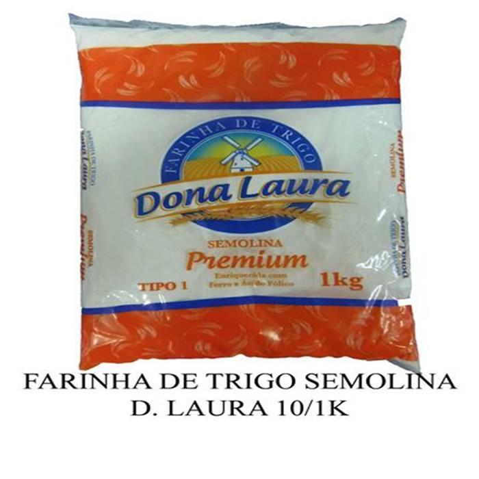 FARINHA DE TRIGO SEMOLINA D. LAURA 10/1K
