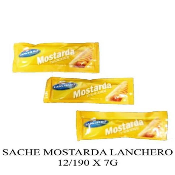 SACHE MOSTARDA LANCHERO 12/190 X 7G