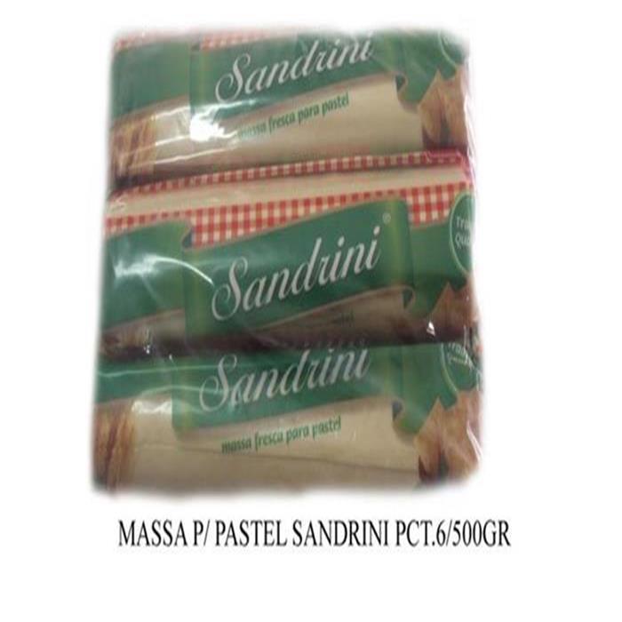 MASSA P/ PASTEL SANDRINI PCT.6/500G