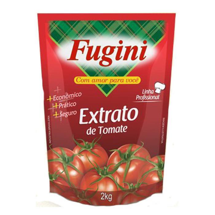 EXTRATO DE TOMATE FUGINI REFIL CX 6/2KG