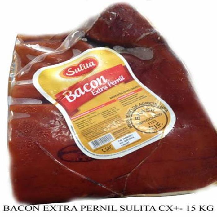 BACON EXTRA PERNIL SULITA CX+- 15 KG