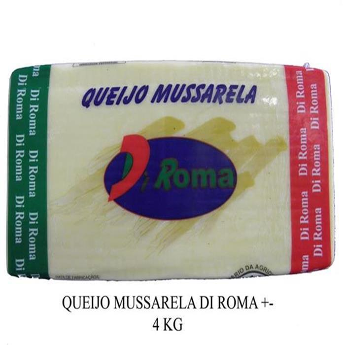 QUEIJO MUSSARELA DI ROMA 6PC/+-3,9KG