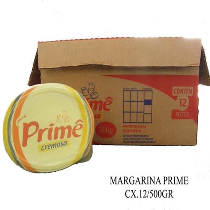 MARGARINA (CREME VEGETAL) PRIME 12/500G