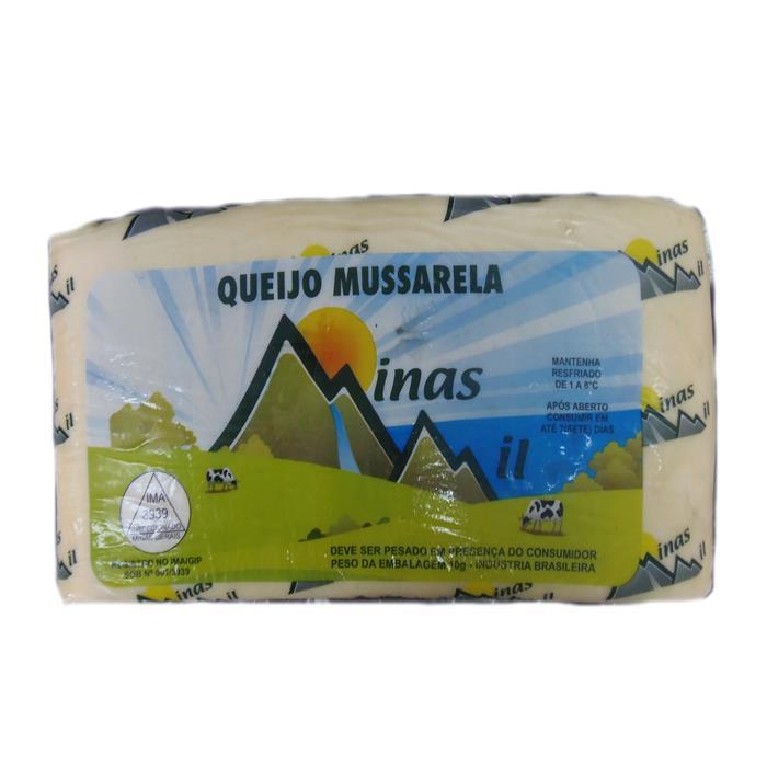 QUEIJO MUSSARELA MINAS MIL 6PC/+-4KG
