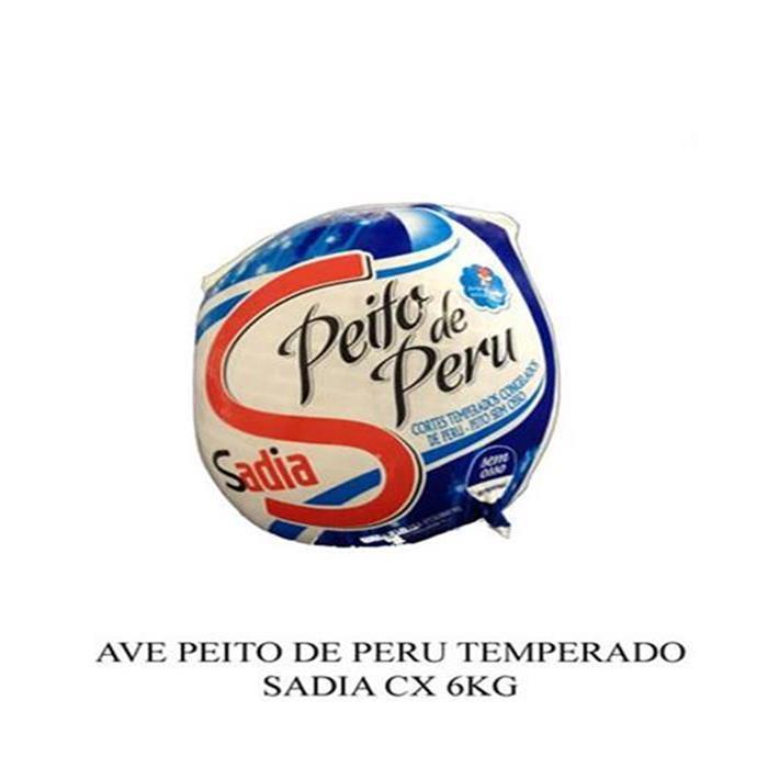 AVE PEITO PERU TEMP SADIA 1PC/+-6KG