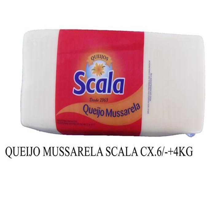 QUEIJO MUSSARELA SCALA CX.6PC/-+23,40 KG