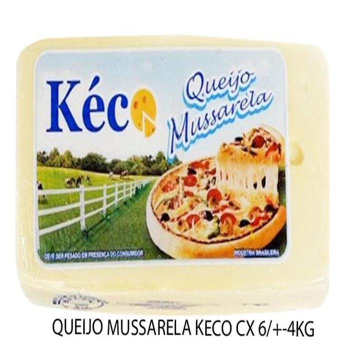 QUEIJO MUSSARELA KECO CX 6/+-4KG