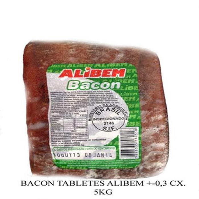 BACON TABLETES ALIBEM CX+-17PC/ 5KG