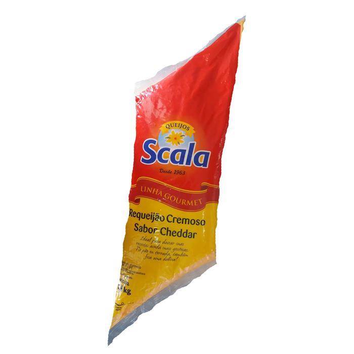 REQUEIJAO CHEDDAR SCALA CX. 8/1,8KG