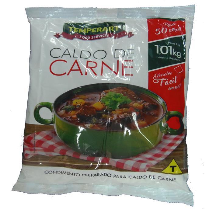 CALDO DE CARNE TEMPERART CX. 10/1,01KG