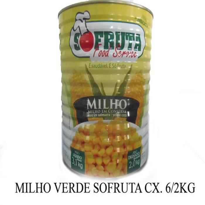 MILHO VERDE SOFRUTA CX. 6/2KG