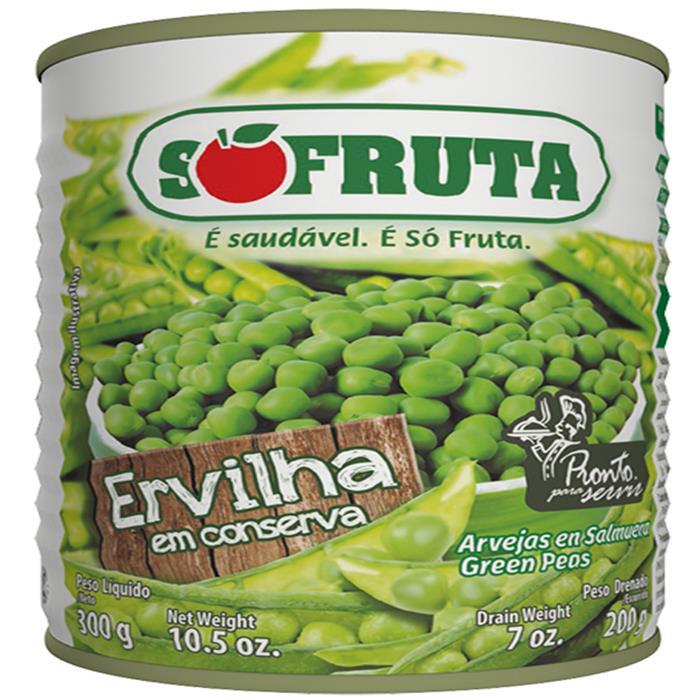 ERVILHA SOFRUTA CX. 24/200GR