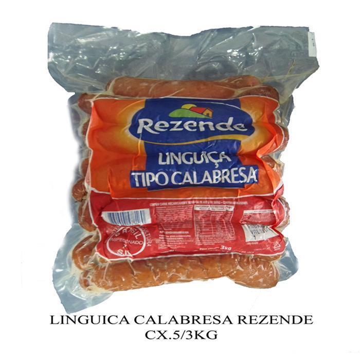 LINGUICA CALABRESA REZENDE CX.6/2,5KG