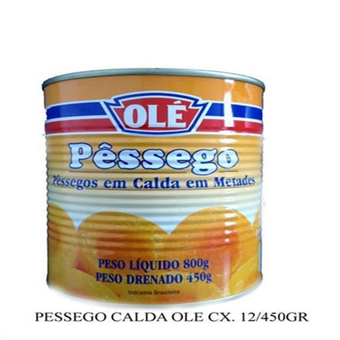 PESSEGO CALDA OLE CX. 12/450GR