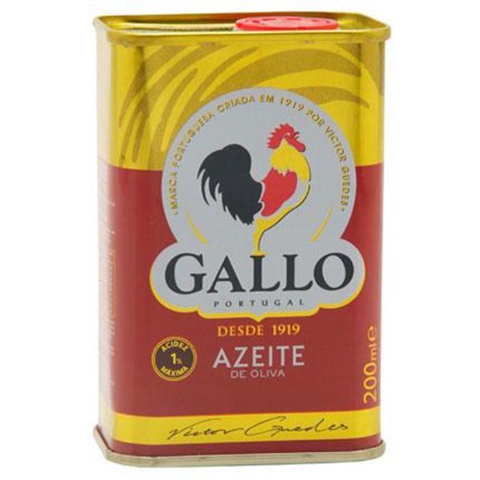 AZEITE GALLO LT. 40/200ML