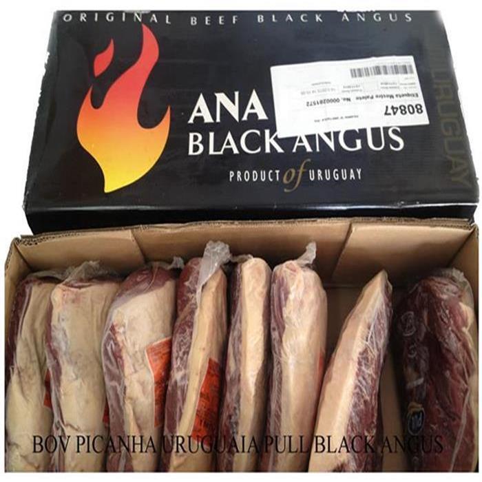 BOV PICANHA URUG BLACK ANGUS +-8/+-1,5