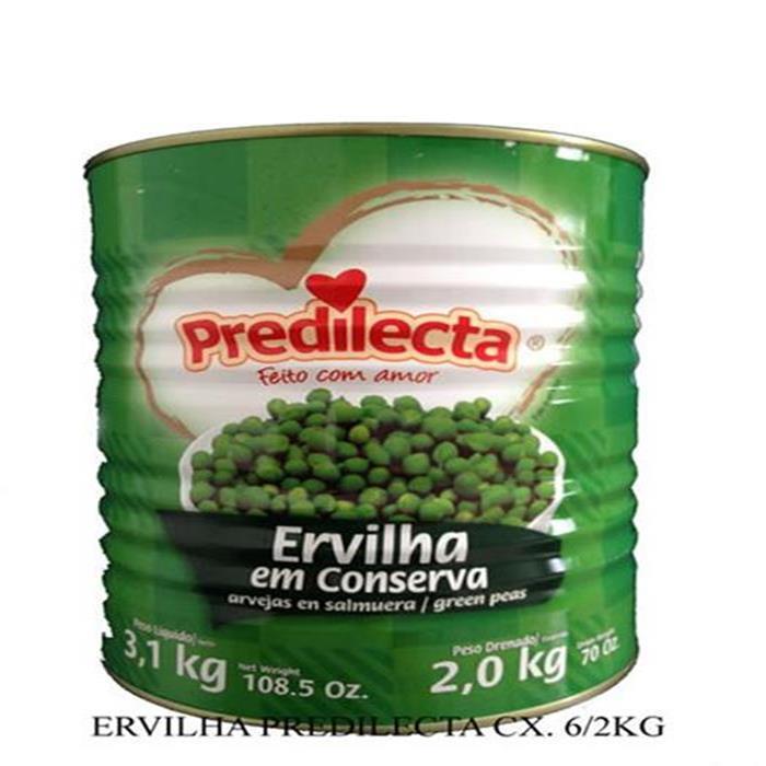 ERVILHA PREDILECTA CX. 6/2KG