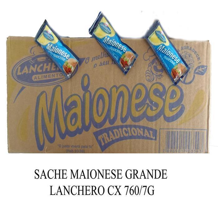 SACHE MAIONESE GRANDE LANCHERO CX 760/7G