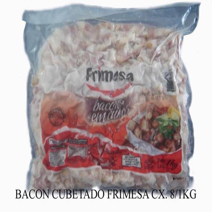BACON CUBETADO FRIMESA CX. 8/1KG