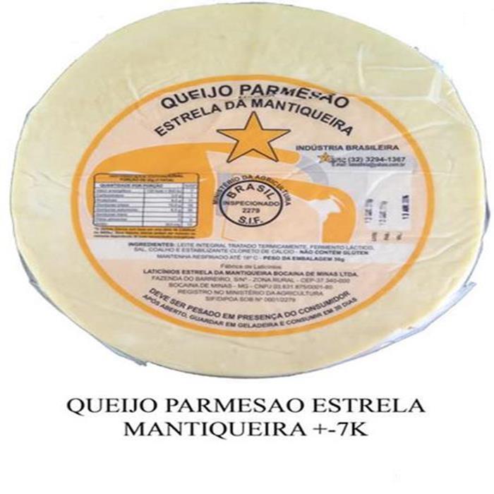 QUEIJO PARMESAO ESTRELA MANTIQUEIRA +-5K