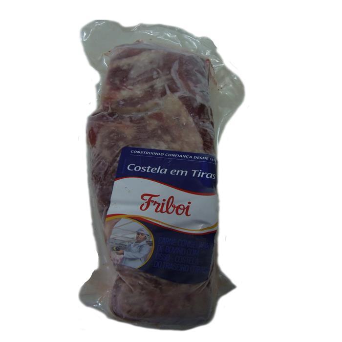 BOV COSTELA TIRAS FRIBOI +-14PC+-1,5KG