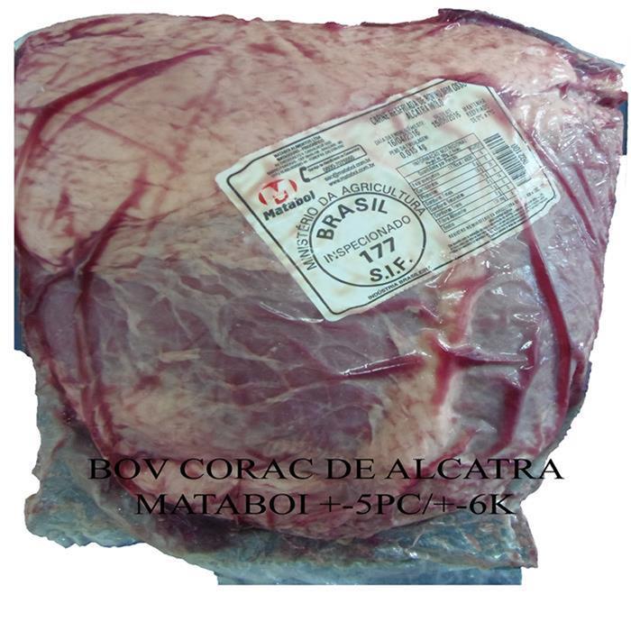BOV CORAC DE ALCATRA MATABOI +-5PC/+-6K