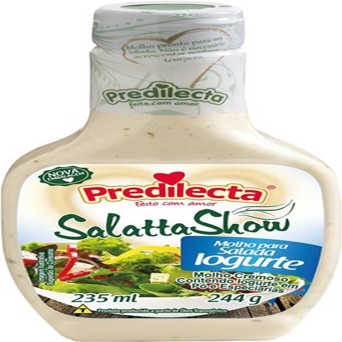 MOLHO SALADA IOGURTE PREDILECTA 12/235ML