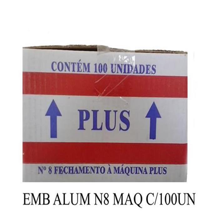 EMB ALUM TK210 N8 MAQ C/100UN 770ML TAK.