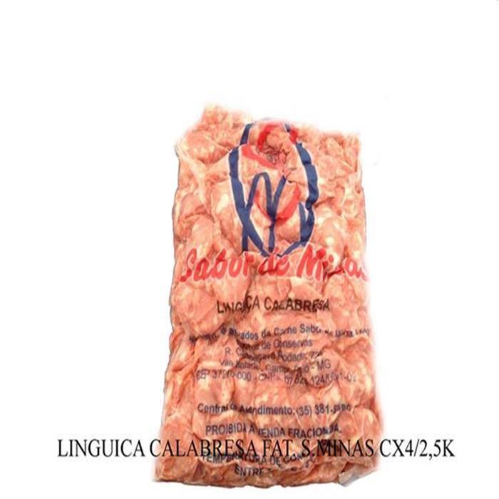 LINGUICA CALABRESA FAT. S.MINAS CX4/2,5K