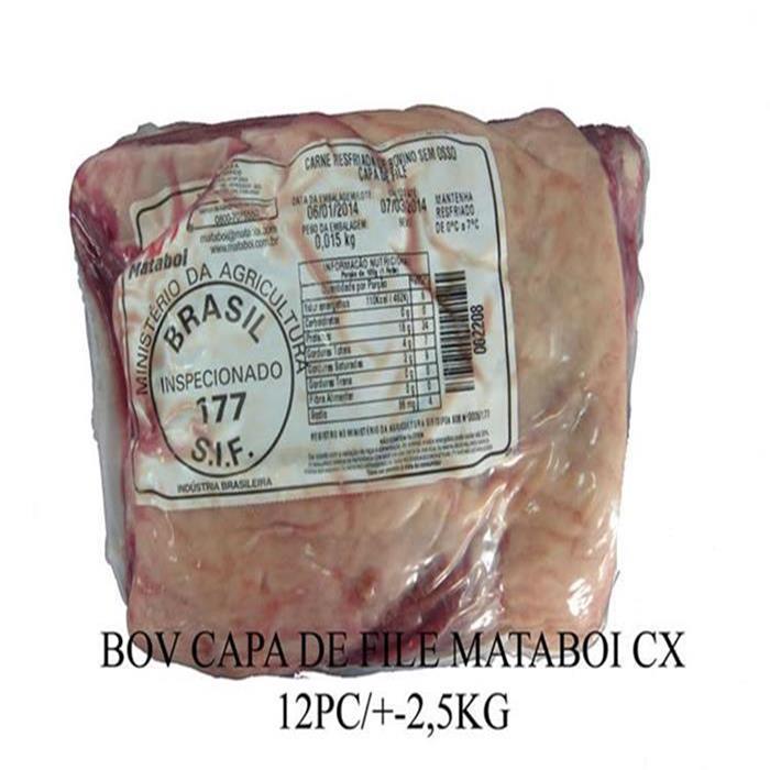 BOV CAPA DE FILE MATABOI +-12PC/+-2,5KG