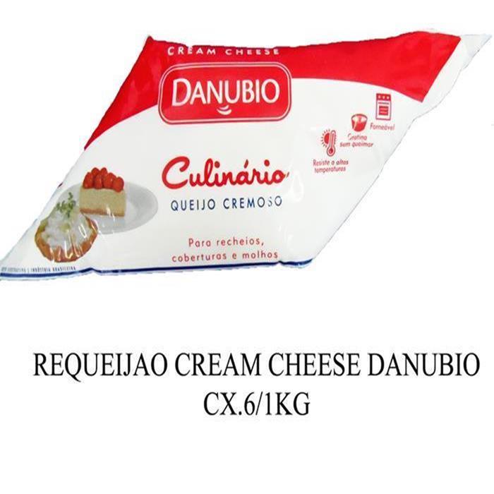 REQUEIJAO CREAM CHEESE DANUBIO CX.6/1KG