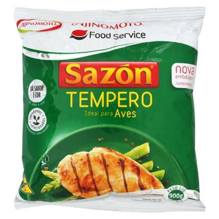 SAZON TEMPERO VERDE  (AVES)  CX. 6/900GR