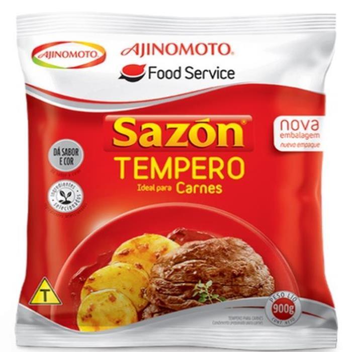 SAZON TEMPERO VERMELHO (CARNES)  6/900GR