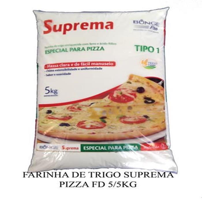 FARINHA DE TRIGO SUPREMA PIZZA FD 5/5KG