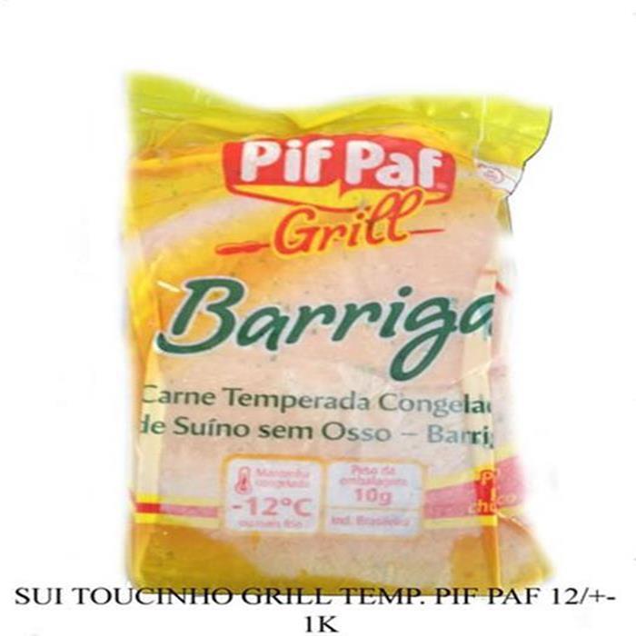 SUI TOUCINHO GRILL TEMP. PIF PAF+-8P/12K