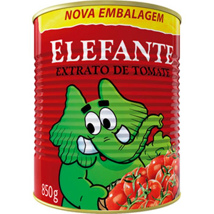 EXTRATO DE TOMATE ELEFANTE CX12/850G